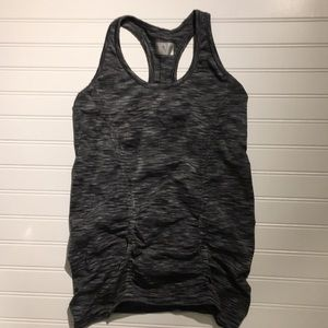Athleta Fastest Track Ruched Tank Top Womens Small